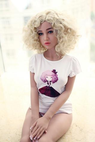 Wm Doll Valeria Sex Doll 156cm Small Breasts Realistic Blonde Teen Lovedoll