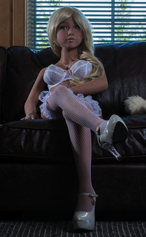 Ailijia Scarlett Sex Doll 140cm  Hyper Realistic European Teen Blonde Lovedoll
