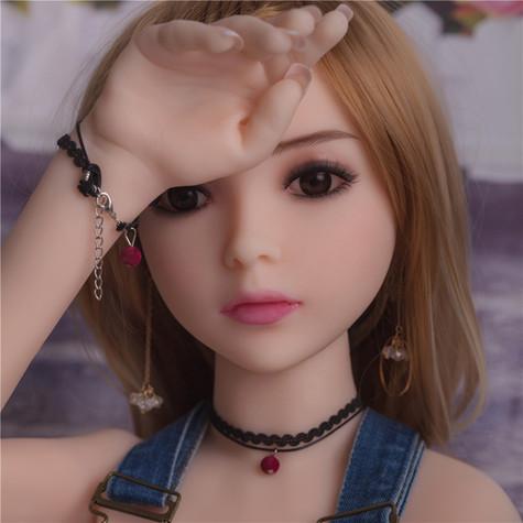 Photo Set of  Ailijia Melanie Sex Doll 100cm  Hyper Realistic  Sexy Teen Mini Doll    DOLLOMI   Premium Sex Dolls