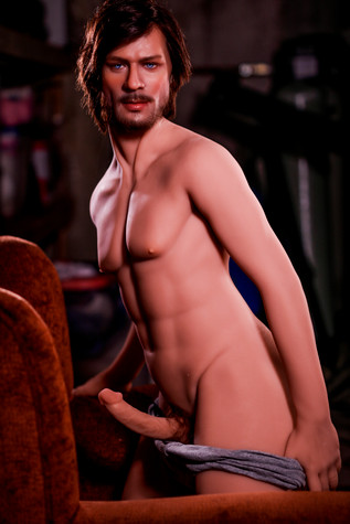 HR Doll Dominic Male Sex Doll 167cm With Big Penis & Silicone Head