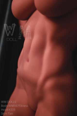 Wm Doll Acuba Sex Doll 167cm Hyper Realistic Fitness Body Muscular Lovedoll