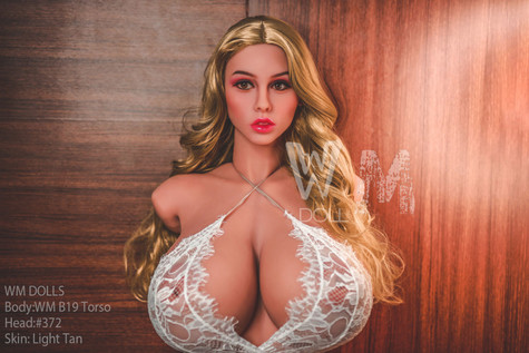 Wm Doll Muscle Torso Sex Doll 70cm Huge Breasts & Nipples Lovedoll With Large Hips