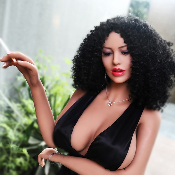 Photo Set of  Ailijia Clarke Sex Doll 158cm  Hyper Realistic Big Breasts Curvy Brunette Lovedoll |  DOLLOMI | Premium Sex Dolls