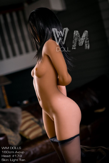 Wm Doll Monique Sex Doll 160cm A-Cup with Slim Body and Small Breasts