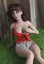 JM Doll Abby Sex Doll 65cm Hyper Realistic Platinum Silicone Mini Lovedoll