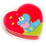 4 oz Dinosaur Heart Box of Chocolates