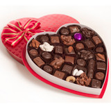 1# Embossed Red Foil Box of Chocolates