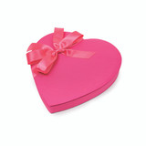 1# Pink Heart Box of Chocolates with Bow