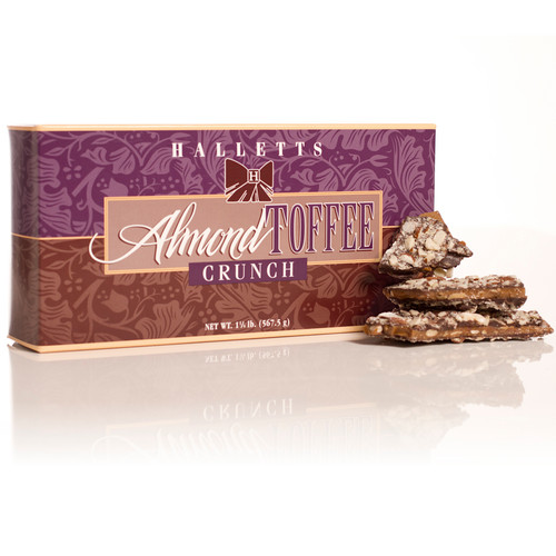 Almond Toffee Crunch 1 1/4lb.