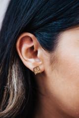 vw van wood earrings