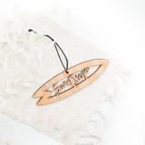 san diego surf christmas ornament