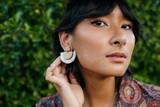 Fringe Bamboo Earrings   Heidy