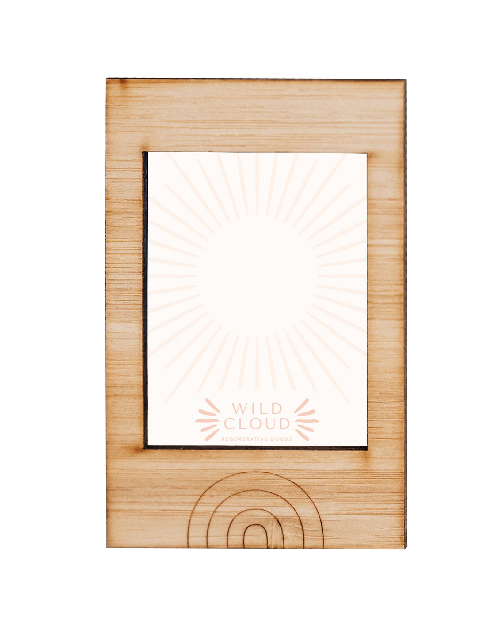 rainbow instax mini frame, fridge magnet