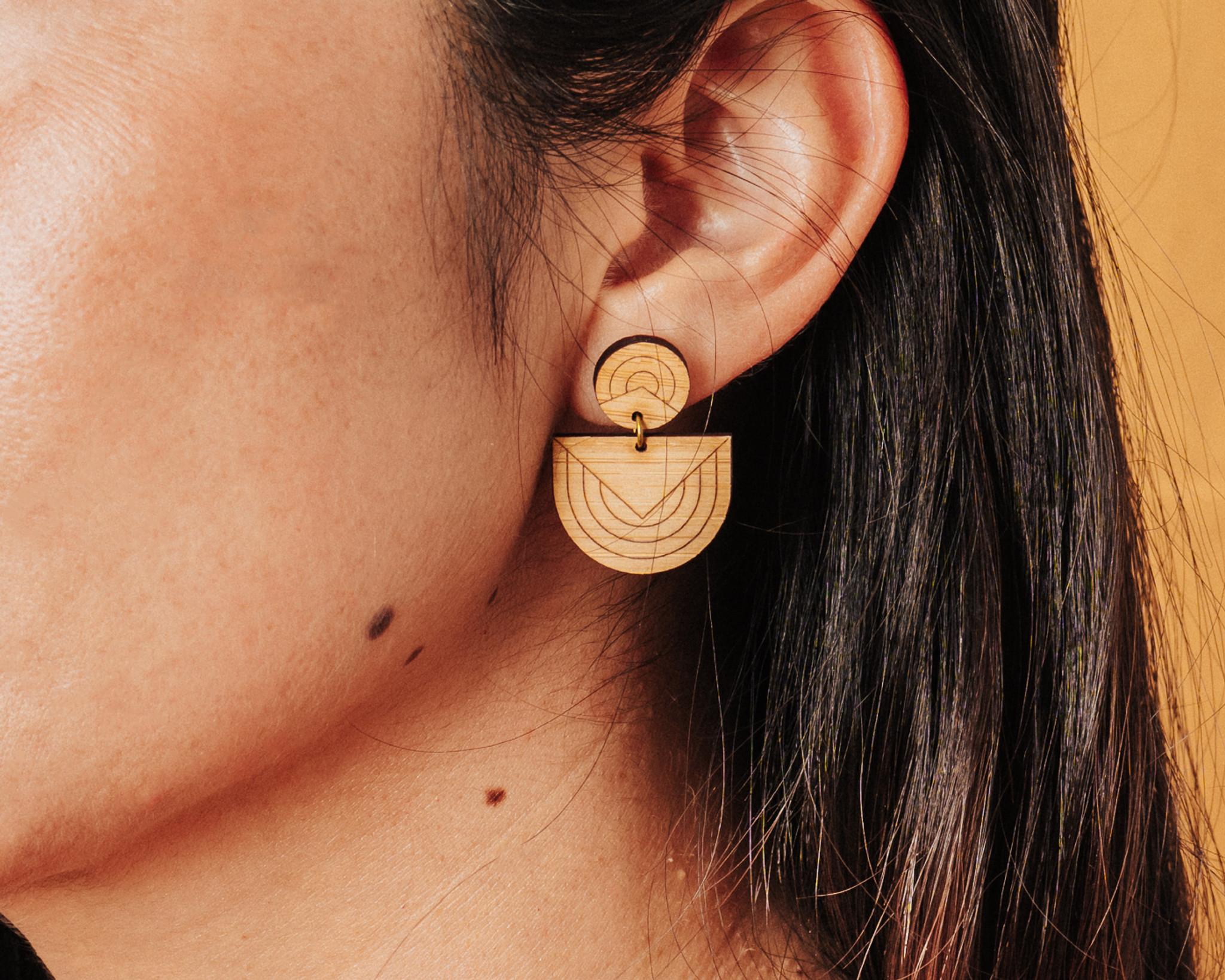 Modern abstract Earrings