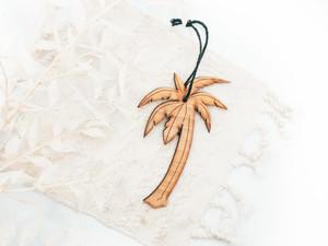 bamboo palm tree ornament, Palm Tree ornament