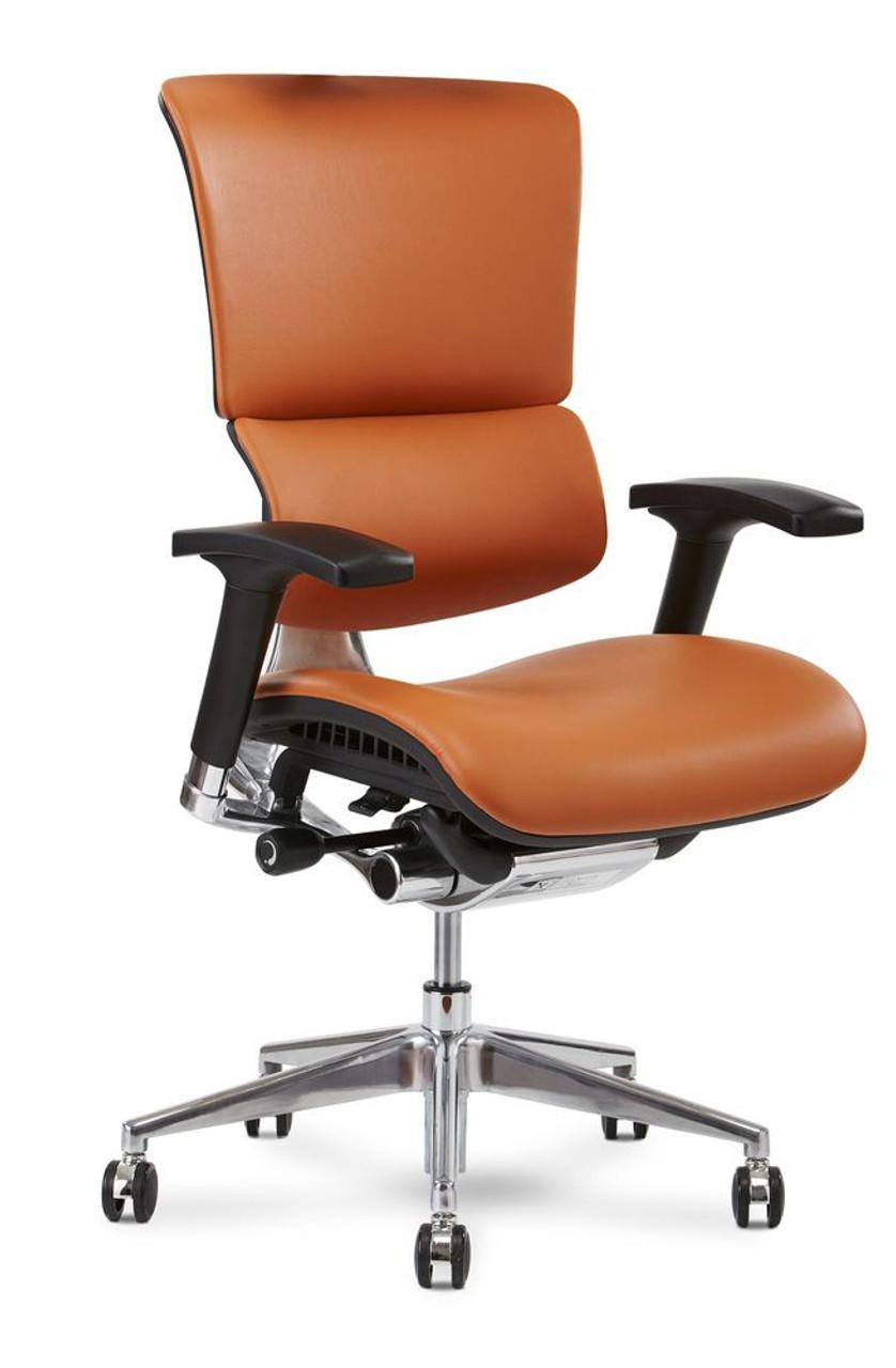 X Chair X4 Leather Executive Task Officechairsusa