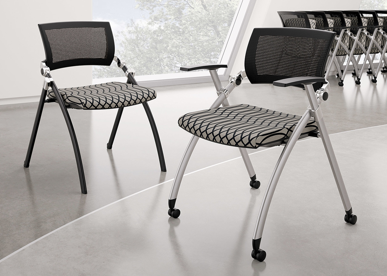 Folding Conference Chairs Conference Room Chairs With Casters