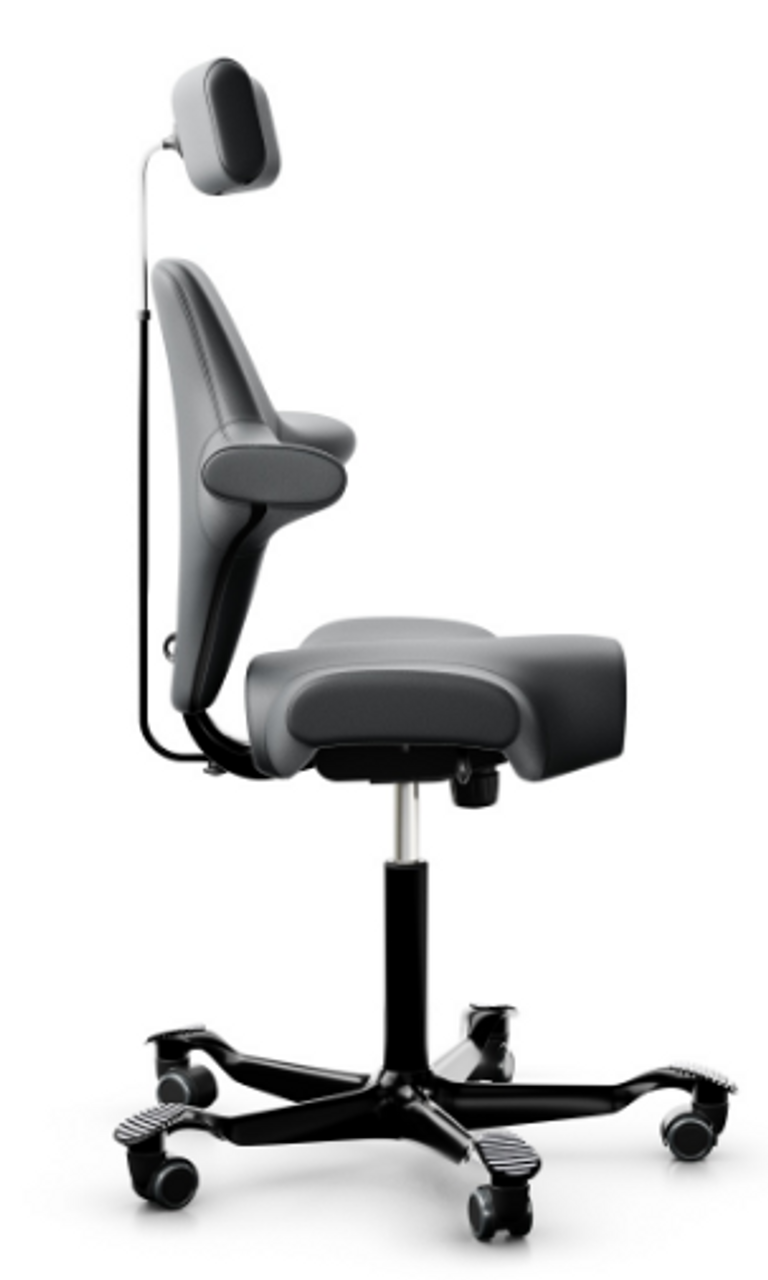 Saddle Seat Office Chair With Headrest Officechairsusa