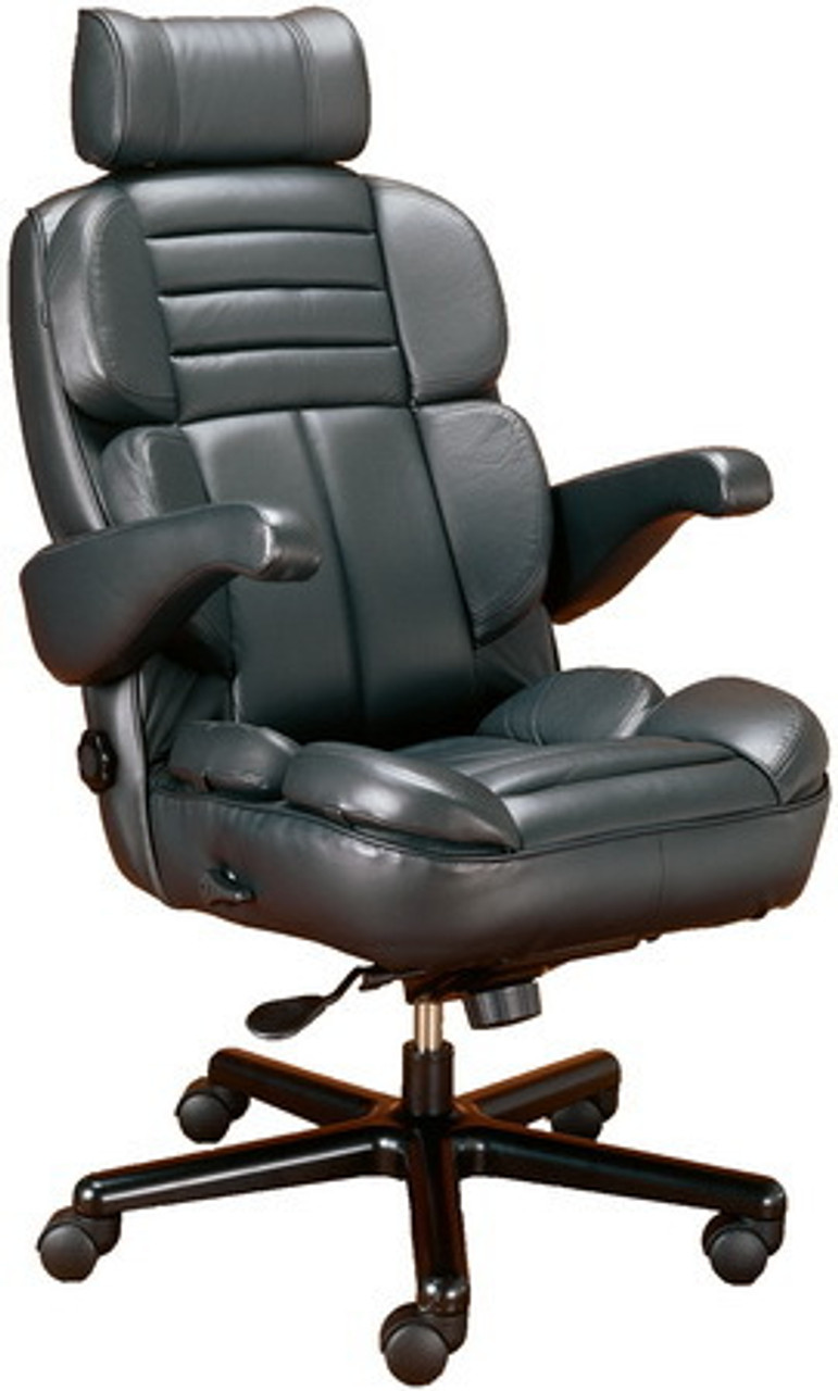 Galaxy Big & Tall 33/33 Executive Chair with Seat Slider