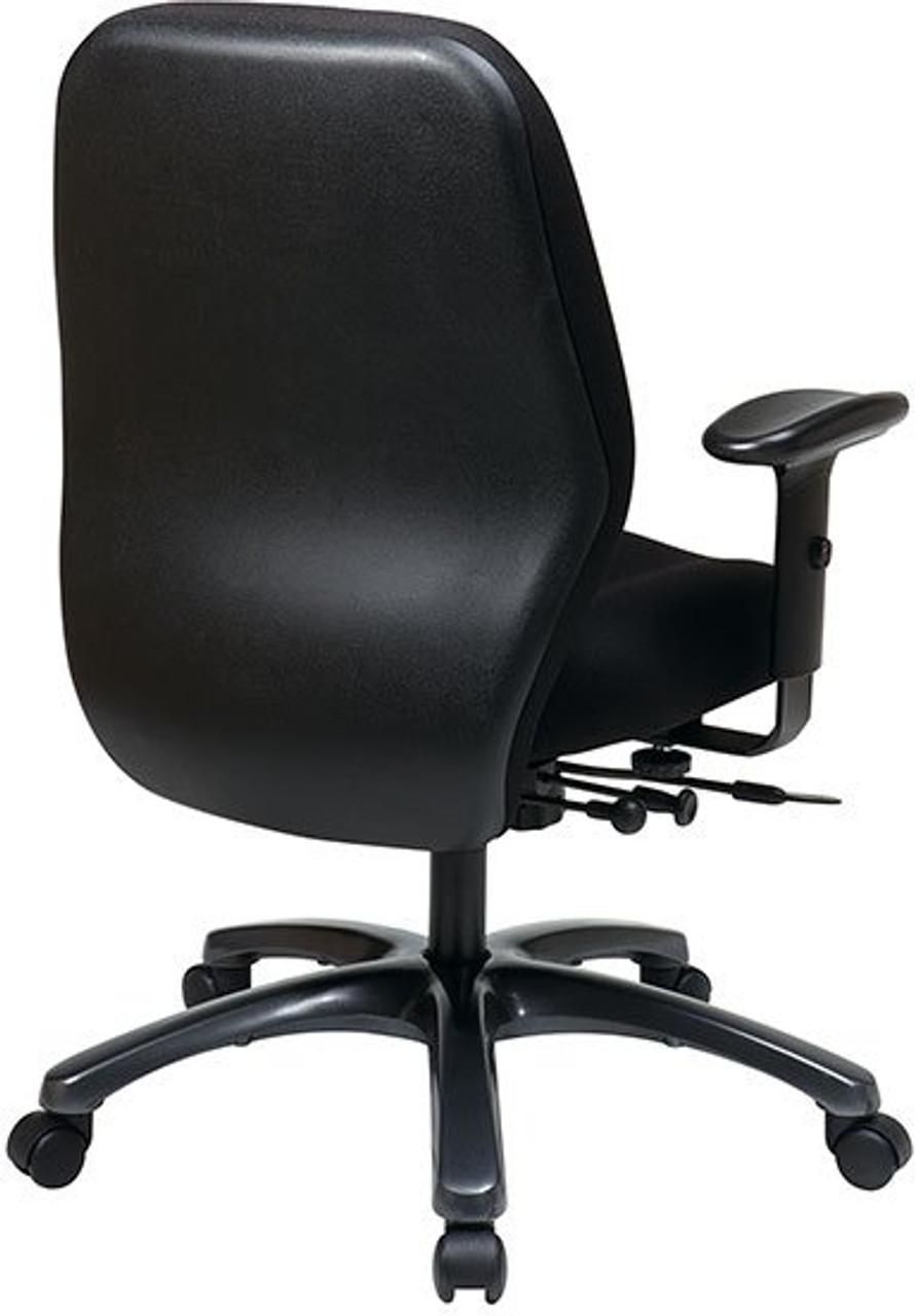 24 7 Ergonomic High Intensity Use Chair With Seat Slider Officechairsusa Com