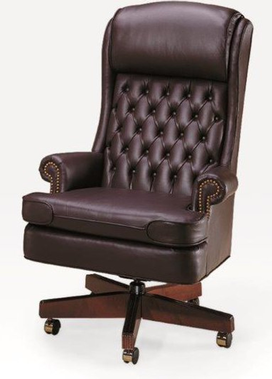 Bedford Traditional Tufted Back XL Swivel