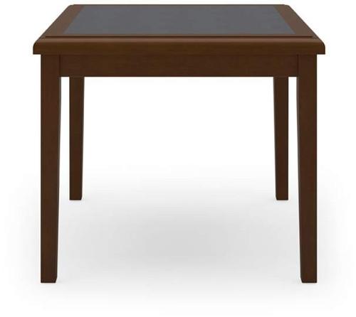 "Belmont 24"" Cornere Table w/ Inlay"