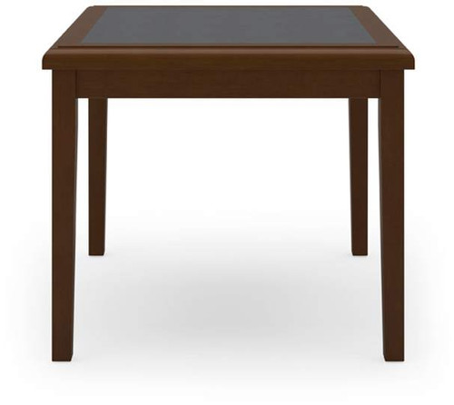 "Belmont 24"" Cornere Table w/ Inlay"