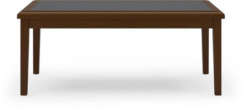Belmont Coffee Table w/ Charcoal Matrix Top Inlay