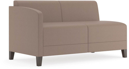 Lesro Fremont Soft Sit Modular Loveseat Right Hand Arm