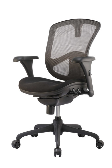 Sculpted Foam Seat in Black