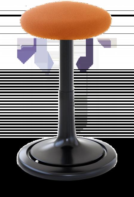 Orange Seat Black Base
