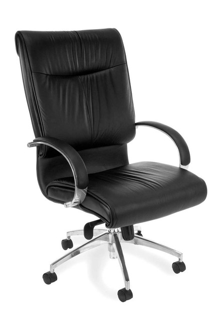 OFM  Sharp Leather Executive High-Back