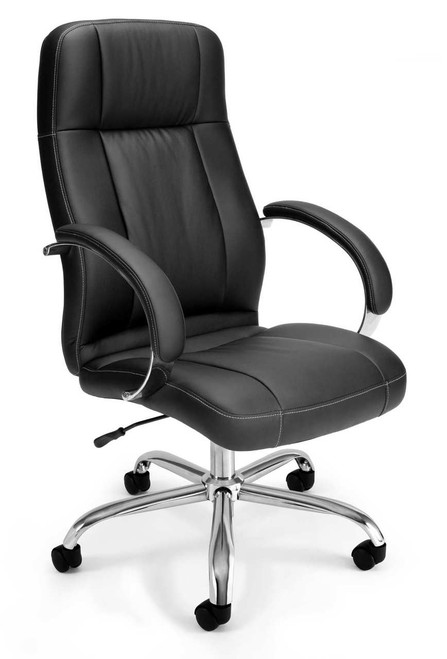 OFM Stimulus Leatherette Executive High-Back Chair