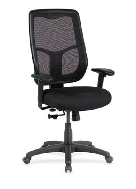 Apollo Ratchet Back Executive Task Chair With Black Base