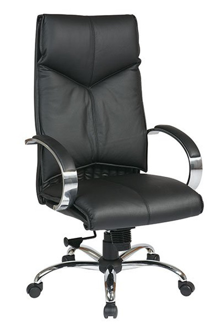 OSP 8200 Deluxe Leather High Back Executive