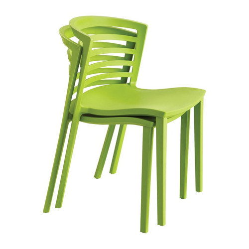 Entourage™ Indoor Outdoor Stack Chair, 4 Pack