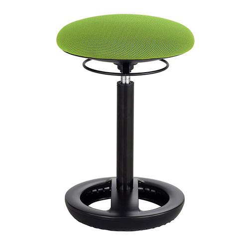 Twixt Ergonomic Stool Quickship, green mesh seat