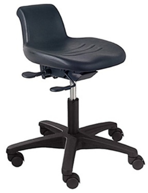 WS12 Workstool with pneumatic lift and tilting seat