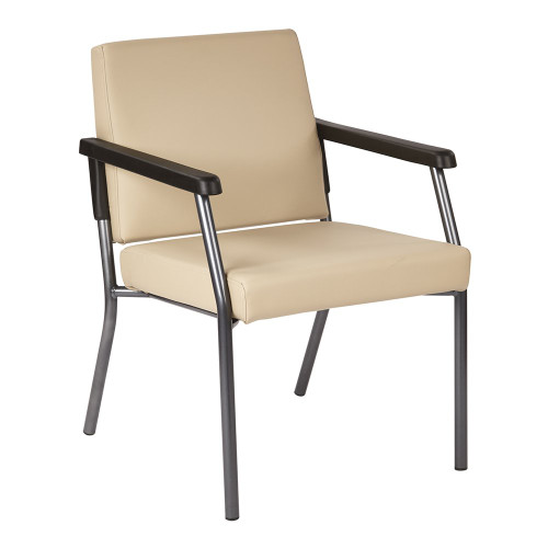 "Buff Guest Chair, 24.75""W, side view"