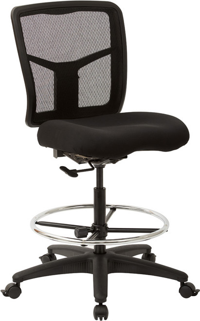 ProGrid® Mesh Drafting Chair with adjustable footring