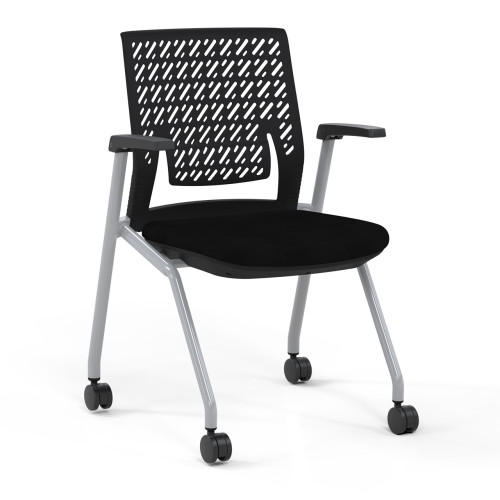 Thesis™ Flex Back Stacking Chair with arms
