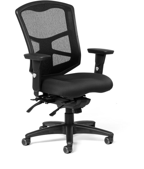 Milan Ultra Mesh High-Back Intensive with Seat Slider