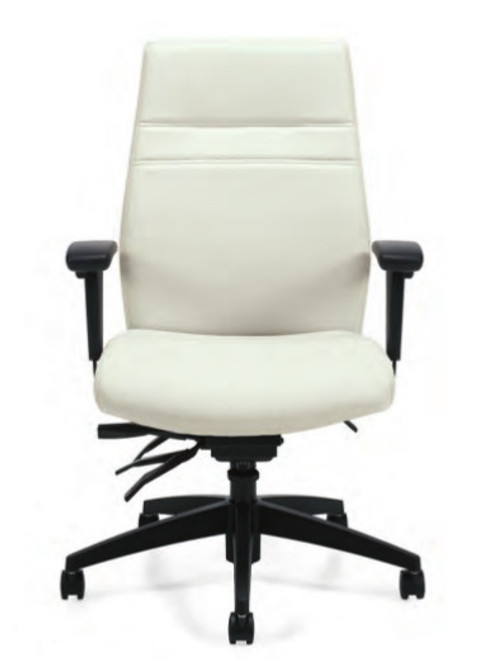Luxhide Manager Multi-Tilter in White Luxhide