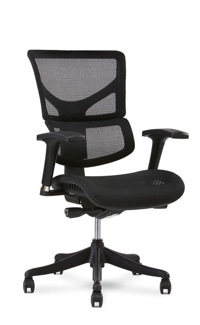 X1 Flex Mesh Ergonomic Office Chair, Black Flex Mesh, without Headrest