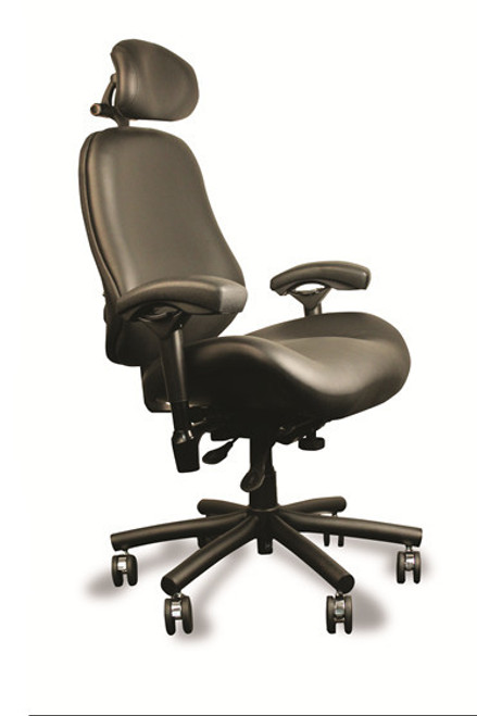 24/7 Heavy Duty High Back CAPTAIN Executive by BodyBilt ™