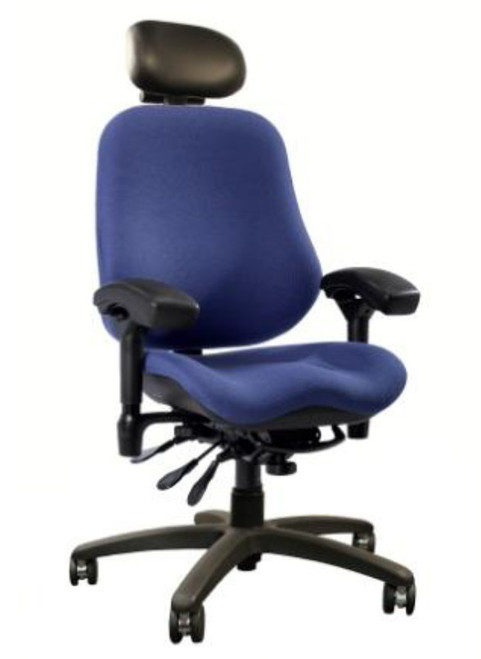 24-7 Stretch High Back Executive by BodyBilt ™