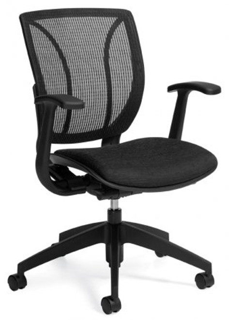 Global Roma Medium Mesh Back Task Chair
