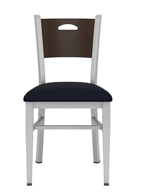 Concord Cafe Chair with Fabric Seat