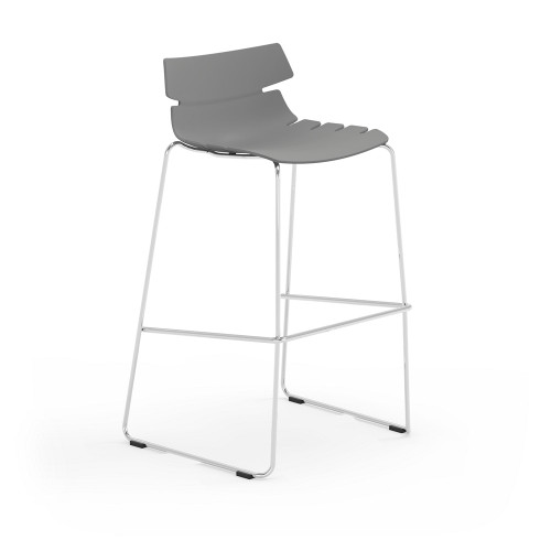 Tikal Stool with London Grey shell