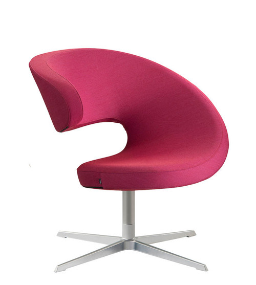 Varier Peel Club Special Order Guest Chair with Cross Base in Fame 4118